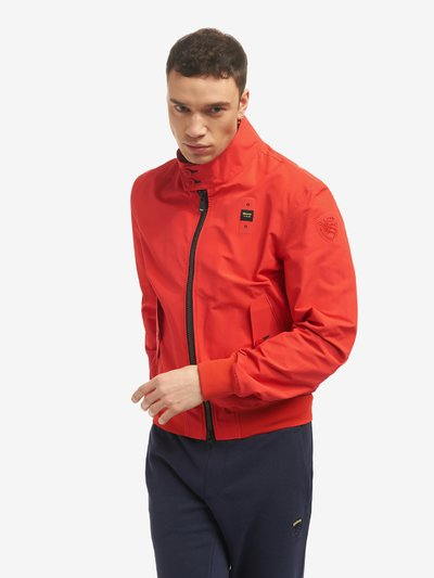 BARRY TECHNICAL COTTON BOMBER JACKET