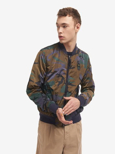 BOMBER CAMOUFLAGE TEINT EN PIÈCE RAY