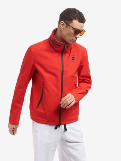 RICKY STRETCH NEOPRENE JACKET