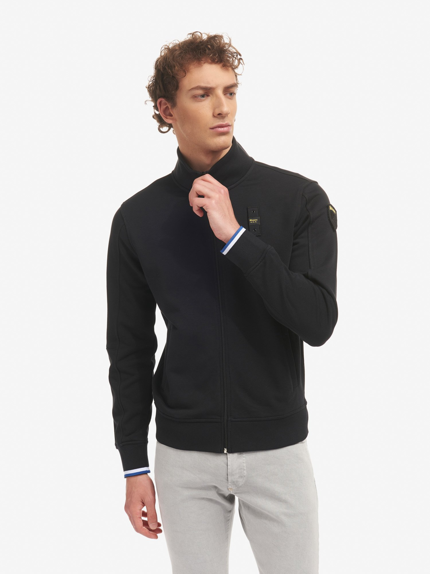 SWEATSHIRT WITH ZIP - Blauer