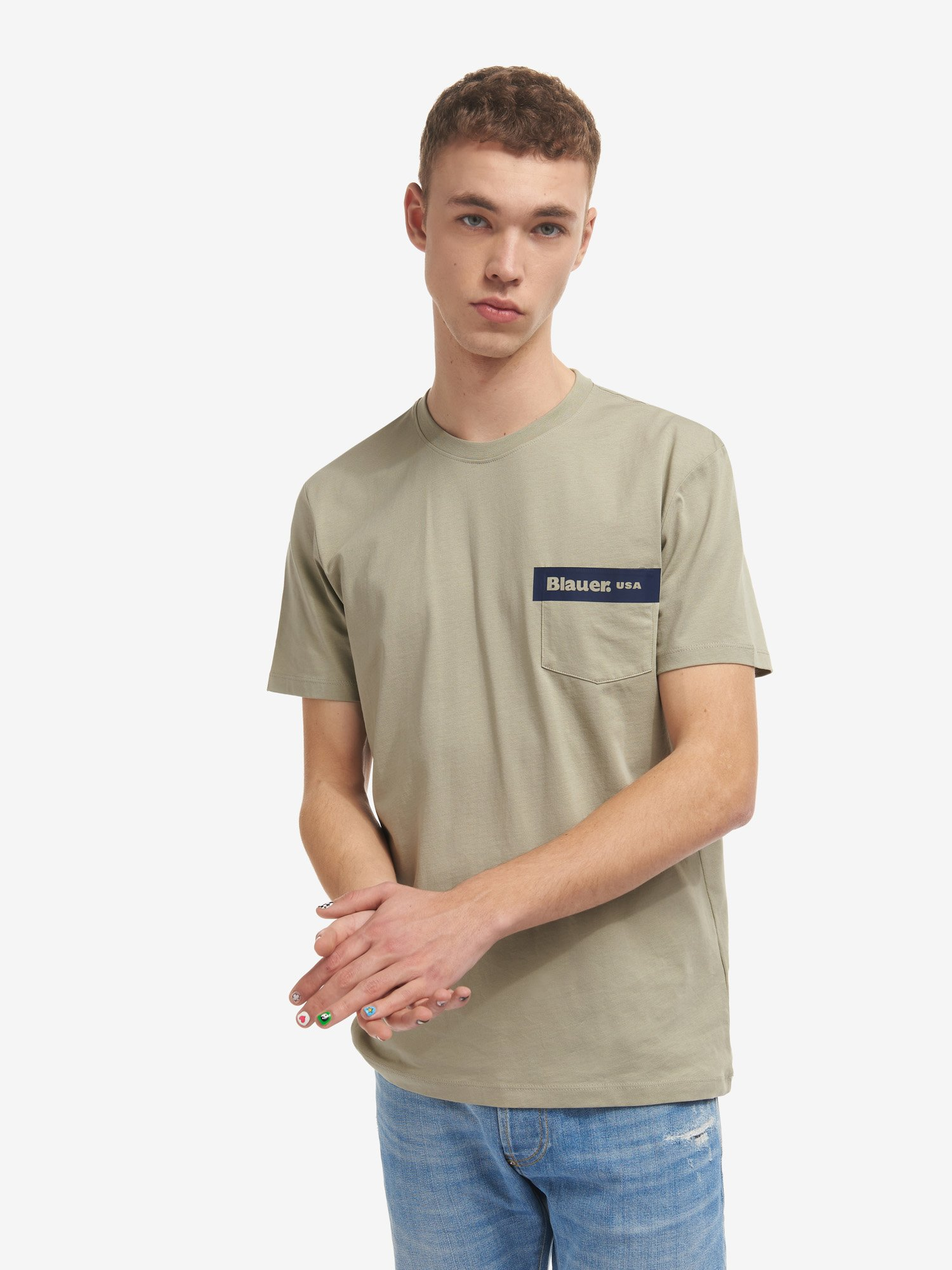 POCKET T-SHIRT - Blauer