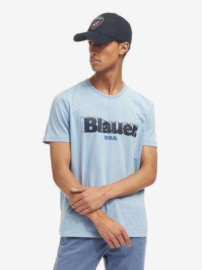 3D BLAUER T-SHIRT