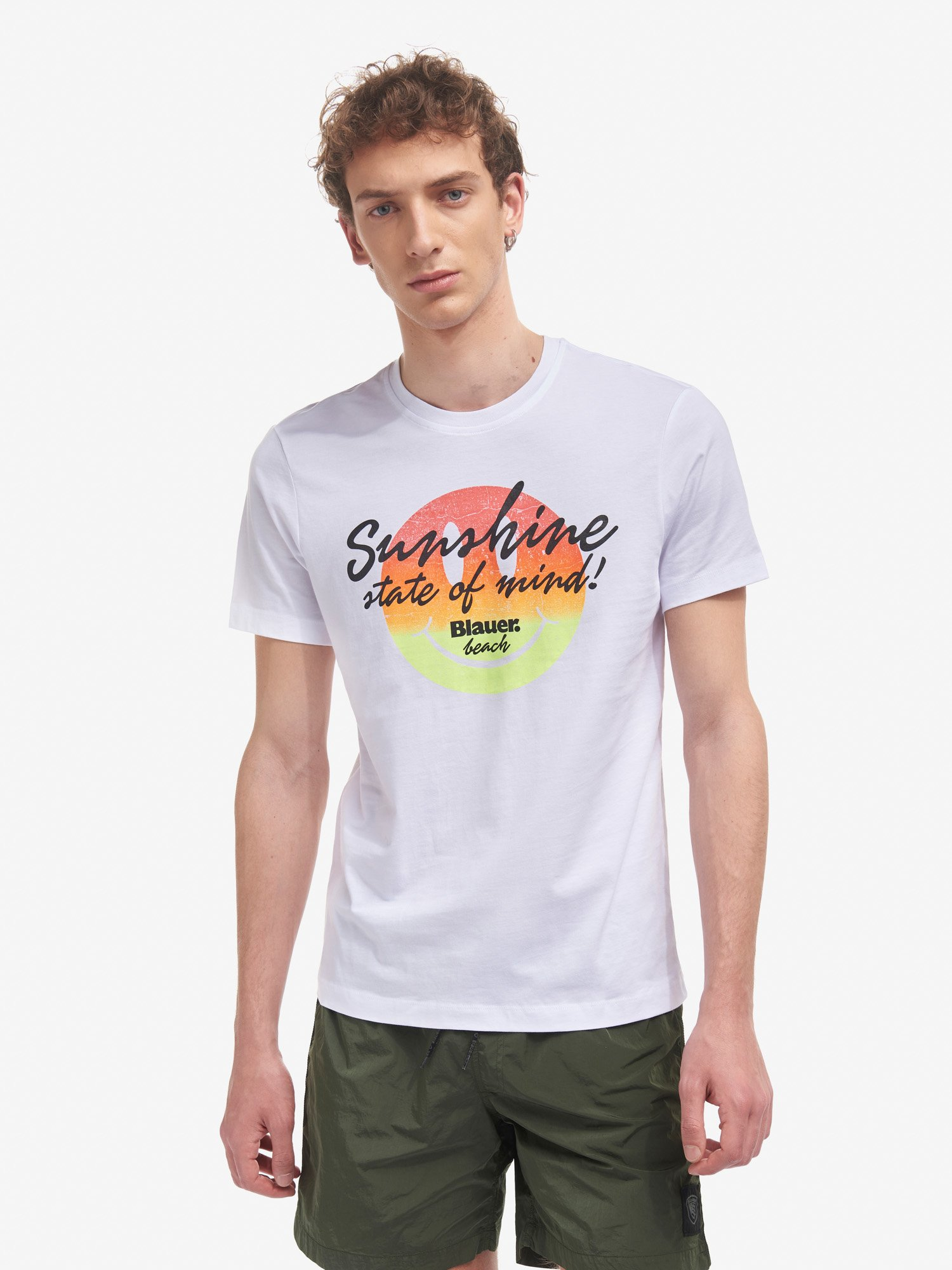 T-SHIRT SUNSHINE - Blauer