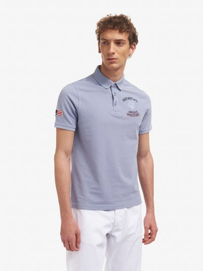 STATE MEET L.A. C.A. POLO SHIRT
