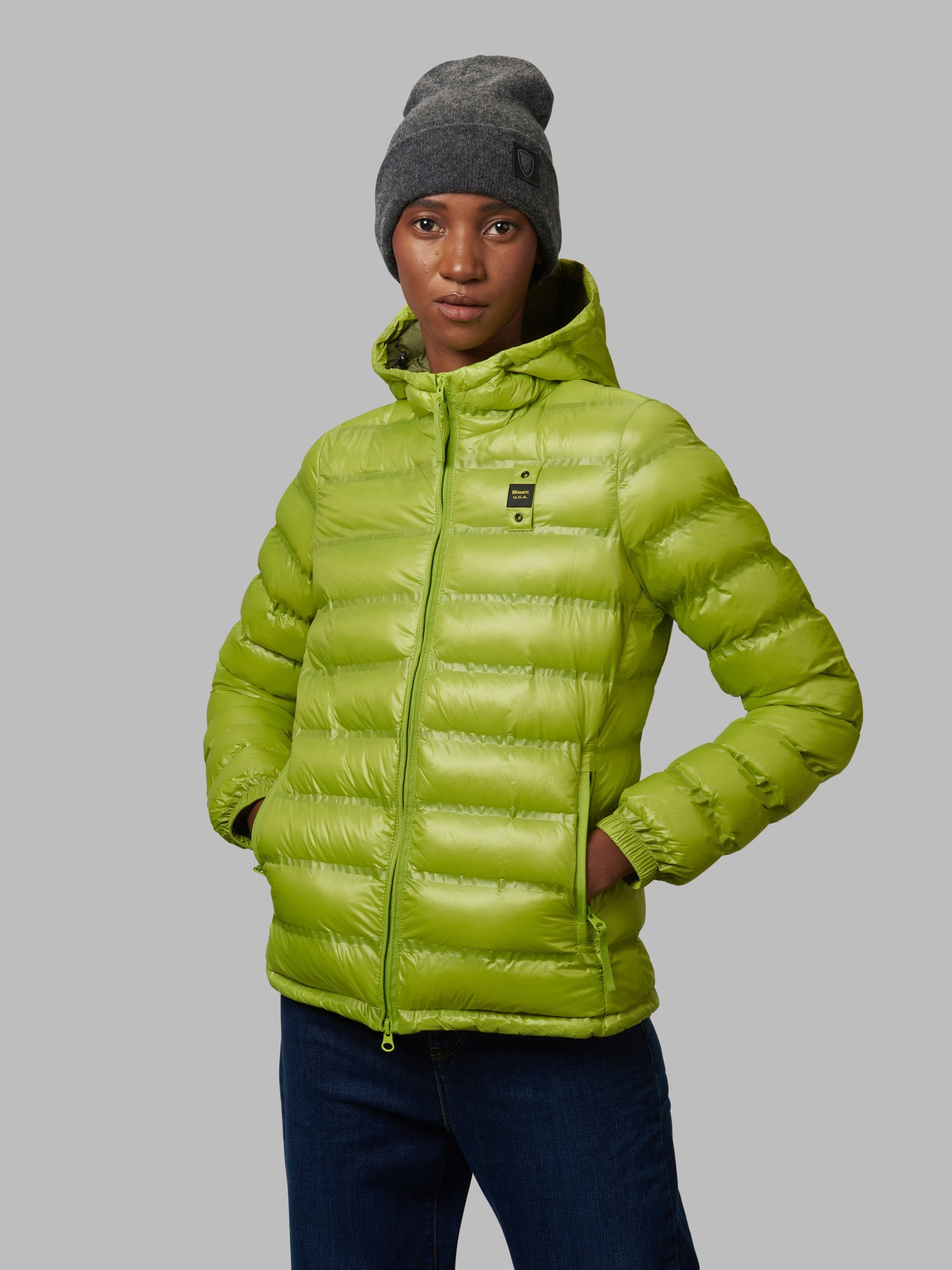 DANIELLE DOWN JACKET WITH ECO PADDING - Blauer