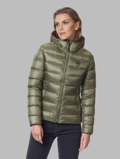 EMMA QUILTED DOWN JACKET WITH HOOD
