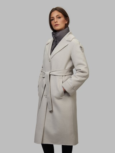 ANA COAT WITH DETACHABLE INNER DOWN JACKET