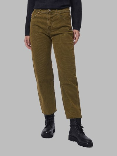 RIBBED STRAIGHT LEG TROUSERS - Blauer