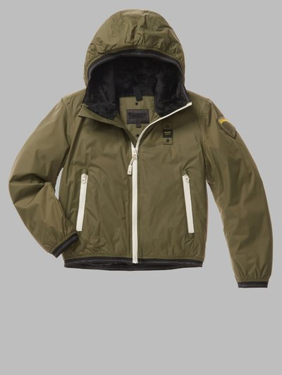 DERRICK DOWN JACKET WITH FUR LINING