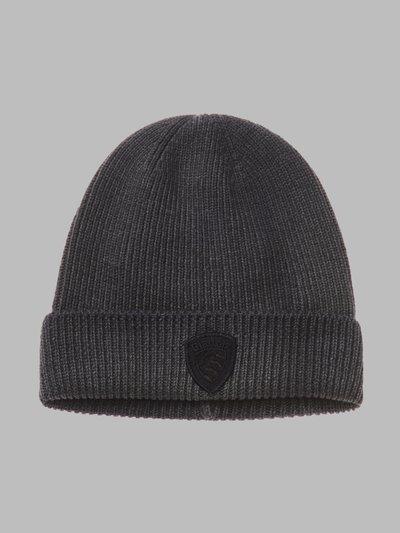 GARMENT-DYED CAP - Blauer