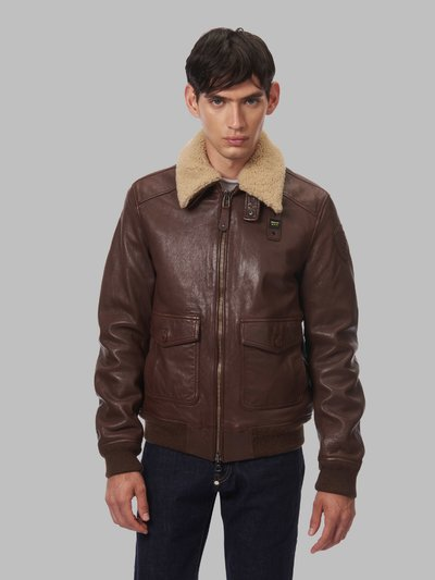 ANDRE BOMBER JACKET WITH FUR