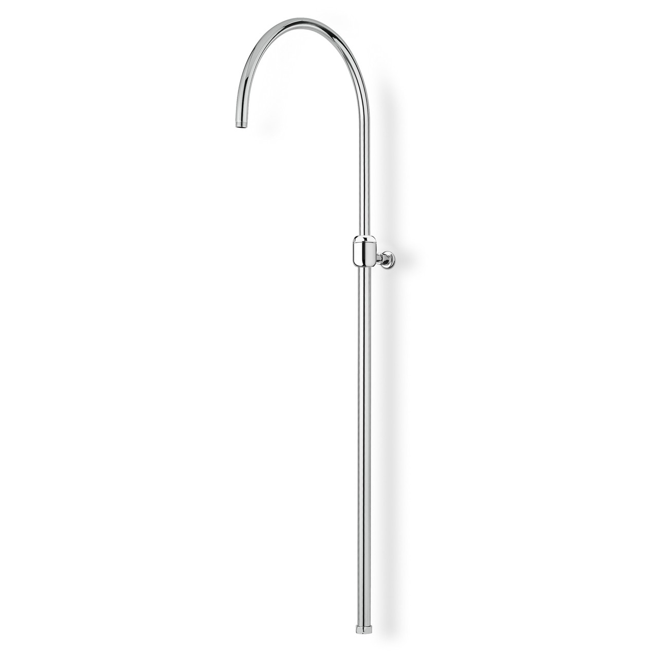 Bow-shaped shower column