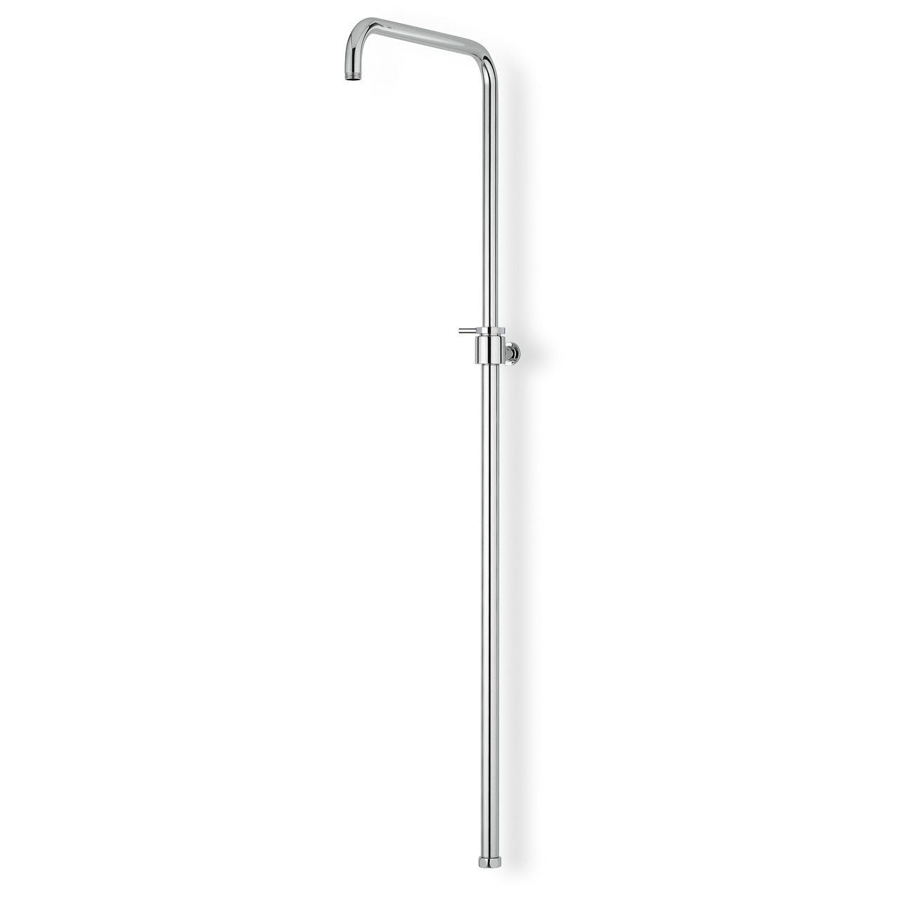 Telescopic bridge shower column
