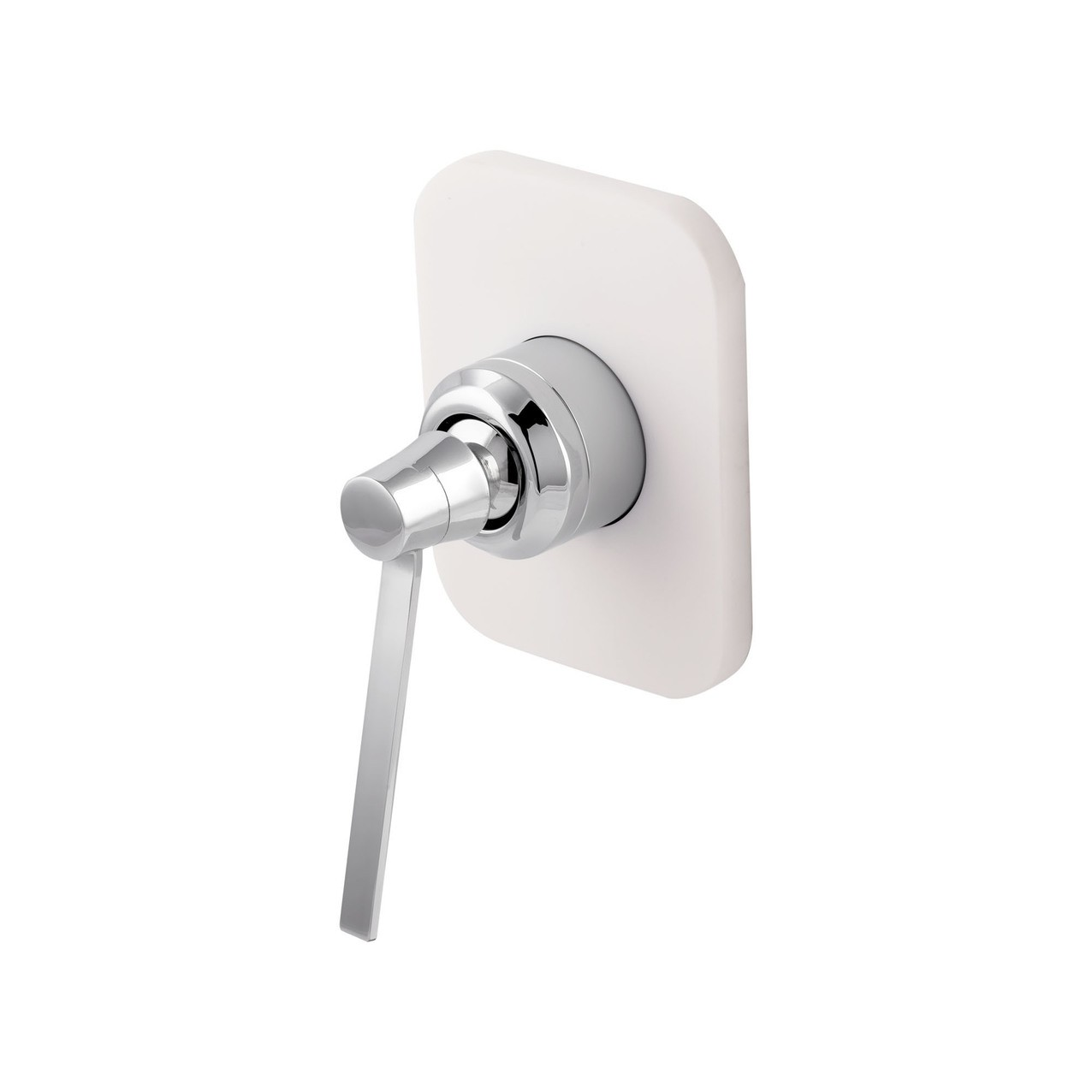 Concealed Shower Mixer Seve Glacier White
