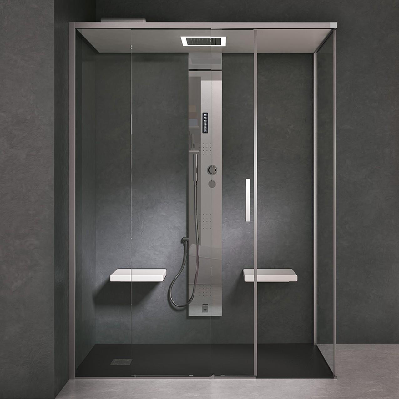Colonna doccia + generatore di vapore