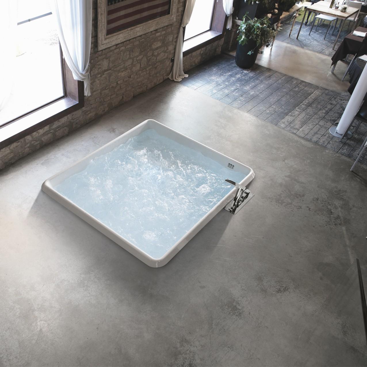 Vasca Quadrata Bolla