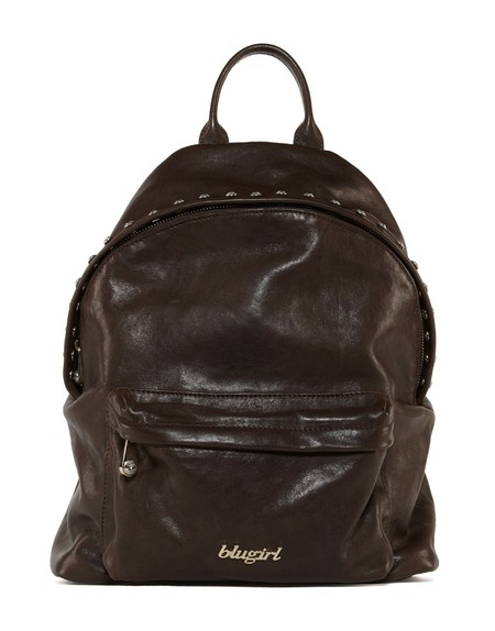 Crystal Leather Backpack