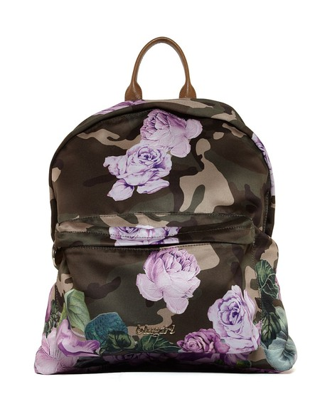 Camouflage-print Backpack