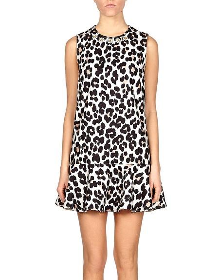 Leopard Print Minidress