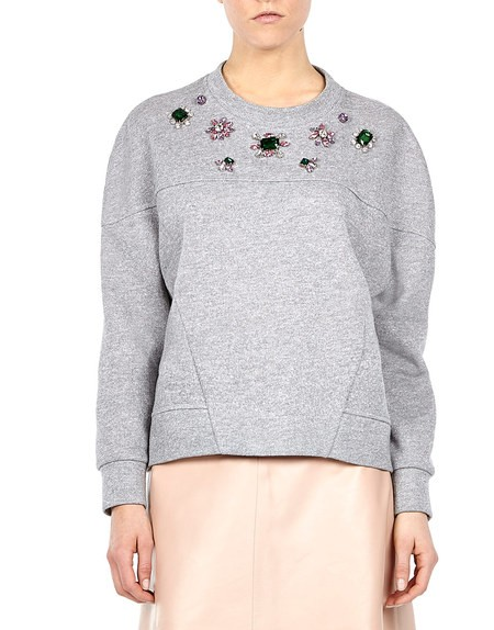 Embellished Hooded-top