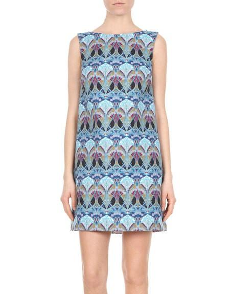 Liberty-print Dress