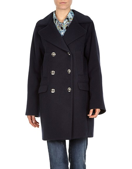 Wool Flannel Coat
