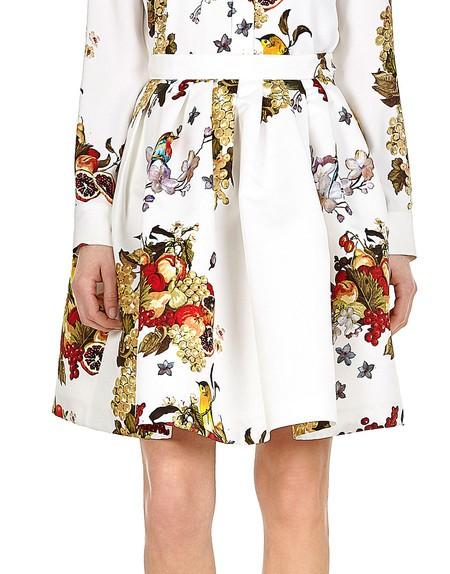 Fruit And Flower Printed Skirt