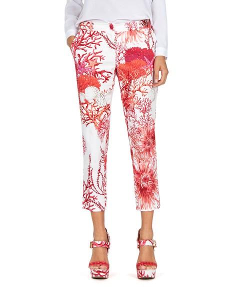 Coral Print Pant