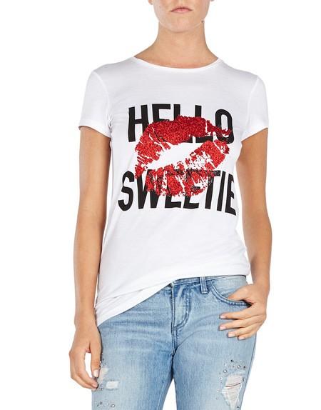 Jersey Hello Sweetie T-shirt