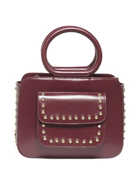 Odette Bag Media Con Borchie