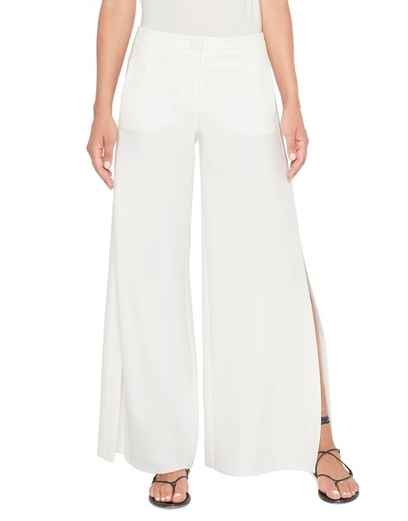 Cropped Oversize Twill Trousers