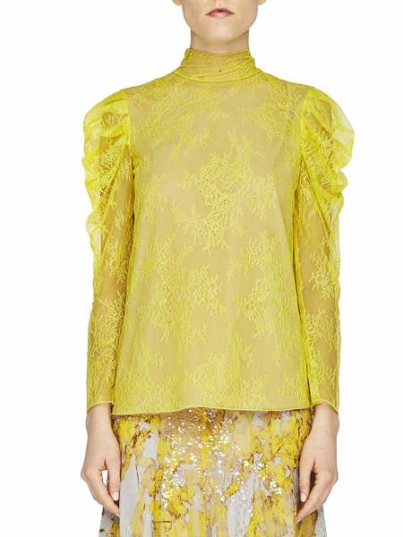 Blusa in Pizzo Chantilly