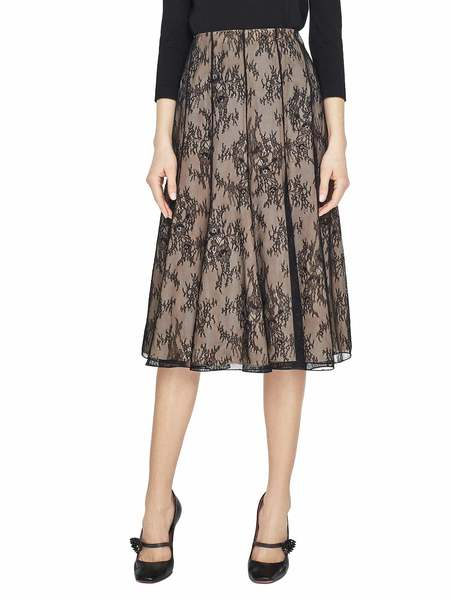 Кружевная юбка с узором «Дрок»