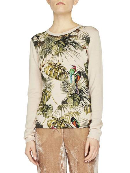 Jungle Print Jumper