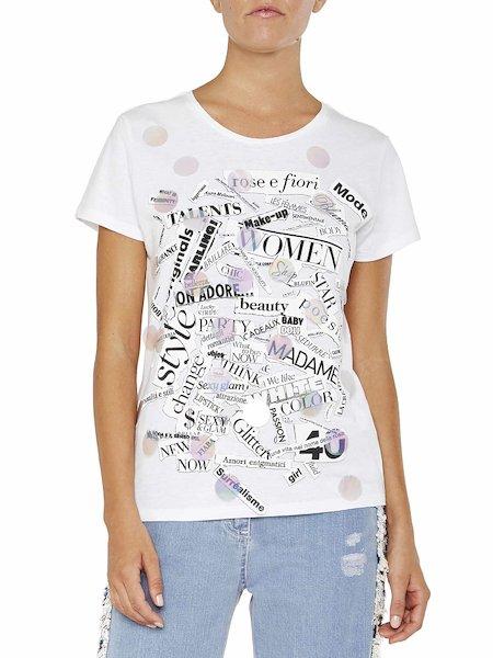 Принтованная футболка
