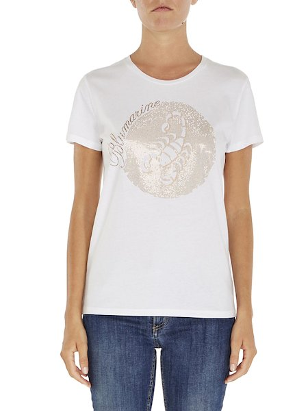 Zodiac T-shirt with sequins