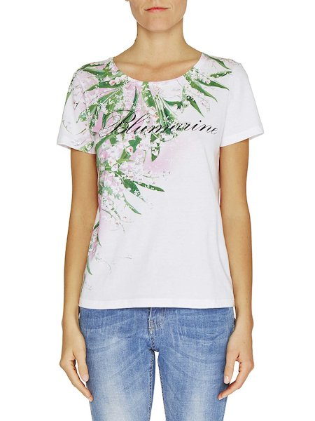 Lily of the valley print T-shirt