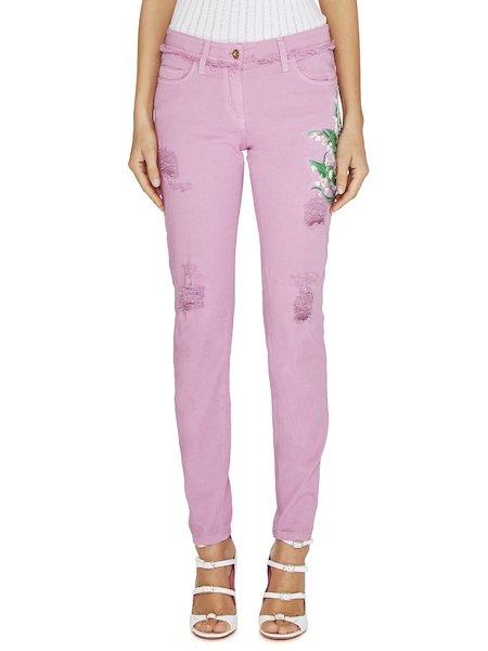 Jeans Con Ricamo