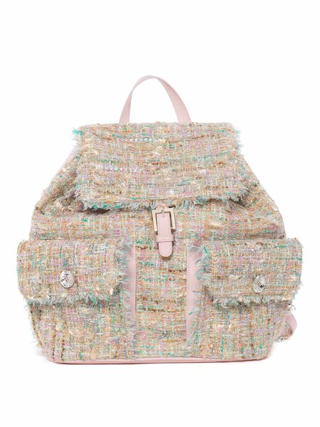 Bouclé backpack