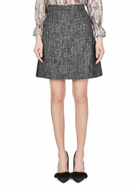 Flared skirt - Grey
