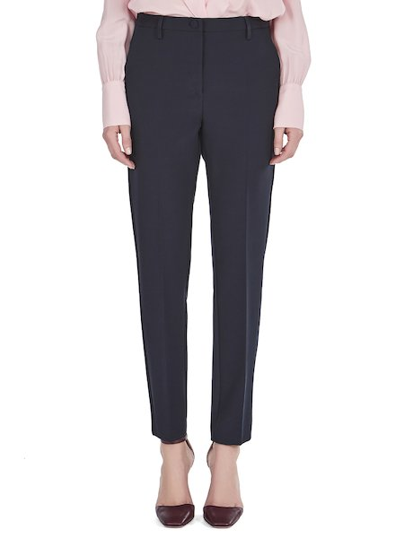 Ankle-length trousers - blue