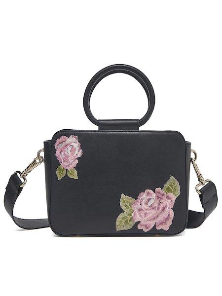 Odette handbag with roses