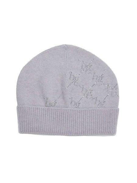 Hat with rhinestones