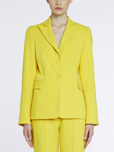 Two-button suit jacket - yellow