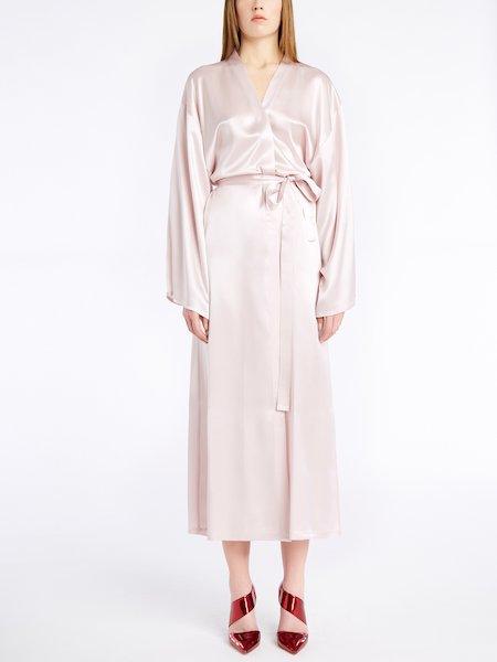 Seidensatin-Kimono
