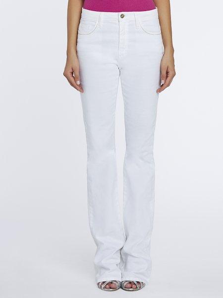 Pantalones de pitillo de algodón