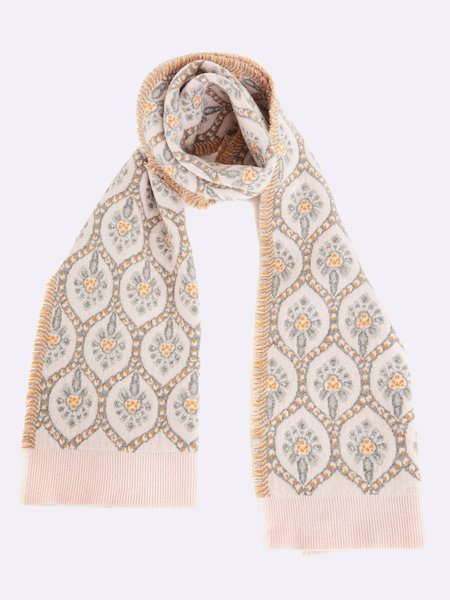 Scarf with fringe - Rosa