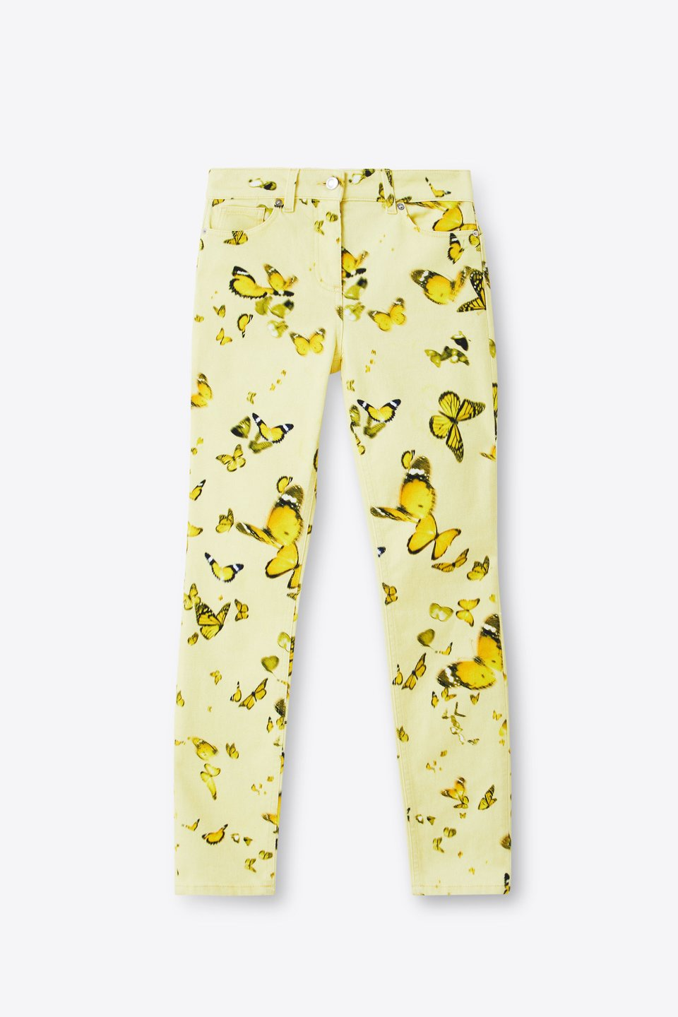 Jeans Slim Fit Stampa Animalier