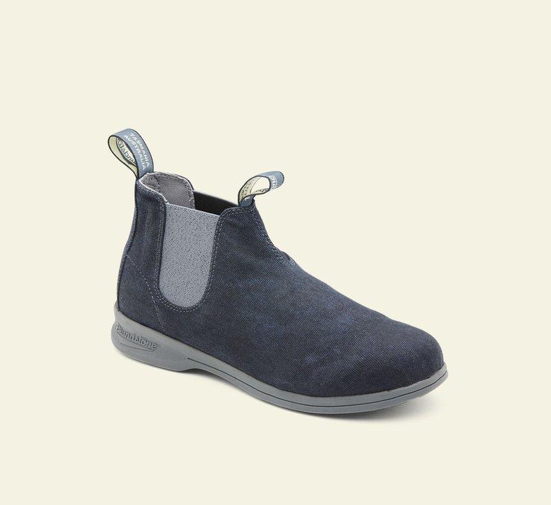 Boots #1389 - ACTIVE SERIES - Blue Denim Canvas