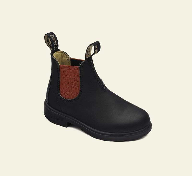 Boots #581 - KIDS - Black & Red